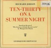 Ten-thirty on a summer night