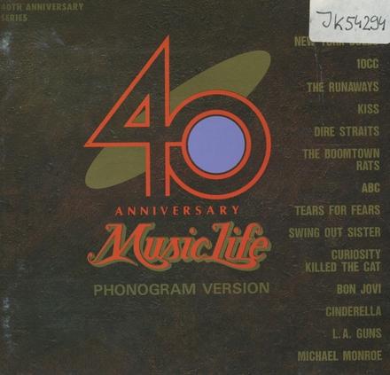 Music Life 40th Anniversary