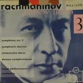 Symphony no.3 in a minor