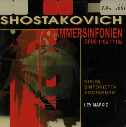 Kammersinfonie opus 110a (1960)
