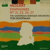 Symphonies no.23, 27, 24, 21