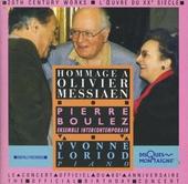 Hommage a Olivier Messiaen : Le concert du 80e anniversaire