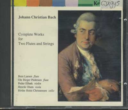 Complete works for two flutes and strings