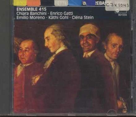 Trois quintettes op.39