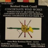 Concertante wind works