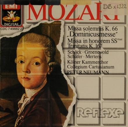 """Missa in c, KV.66 """"Dominicus-Messe"""""""