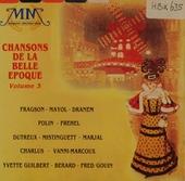 Chansons de la belle epoque. vol.3