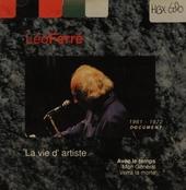 La vie d'artiste - 1961-1972. Vol. X