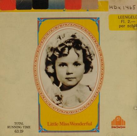 Little miss wonderfull