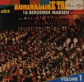 16 beroemde marsen. vol.1 - tv cd