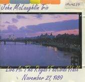 Live at Royal Fest. Hall - Nov.1989
