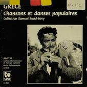 Grèce : chansons et danses populaires