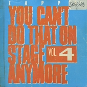 You can't do that on stage anymore. Vol. 4