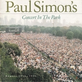 Paul Simon's concert in the park