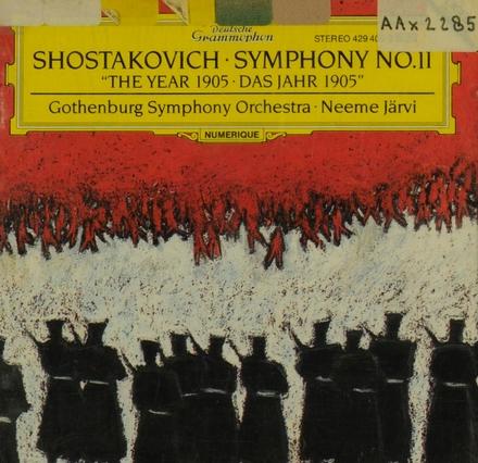 Symphony no.11 op.103