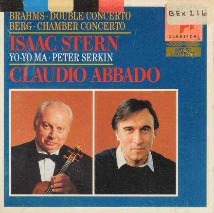 Double concerto for violin, cello, orchestra in a minor op.102