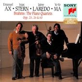 Piano quartets opp. 25, 26 & 60