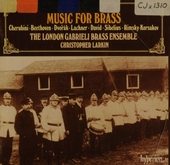 Original 19th century music for brass