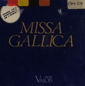 Missa gallica/lallement