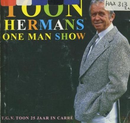 One man show t.g.v. Toon 25 jaar in Carré