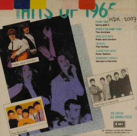 Hits of 1965 : original artists
