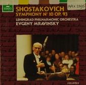 Symphonie no.10 op.93