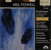 Duplicates : A concerto for two pianos
