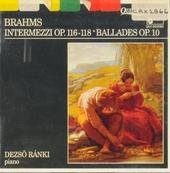 Intermezzi op. 116-118