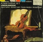 Sonates pour deux violons et basse continue, op.5