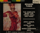 The complete music for violin, viola and piano