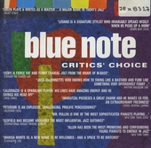 Blue note - critics' choice