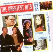 The greatest hits : that's the difference in music 1993. Vol. 1