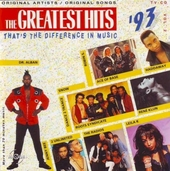 The greatest hits : that's the difference in music 1993. Vol. 2