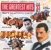 The greatest hits : that's the difference in music 1993. Vol. 3