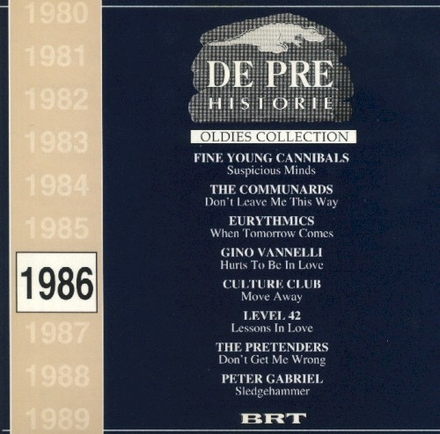 De pre historie. 1986, [Vol. 1]