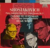 Piano concerto no.1, op.35 ; Piano concerto no.2 op.102 ; Piano sonata no2 op.61