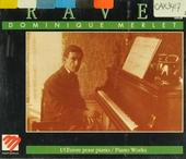 L'oeuvre pour piano