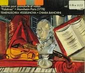 """Sonates """"palatines"""" pour pianoforte et violon. vol.1"""