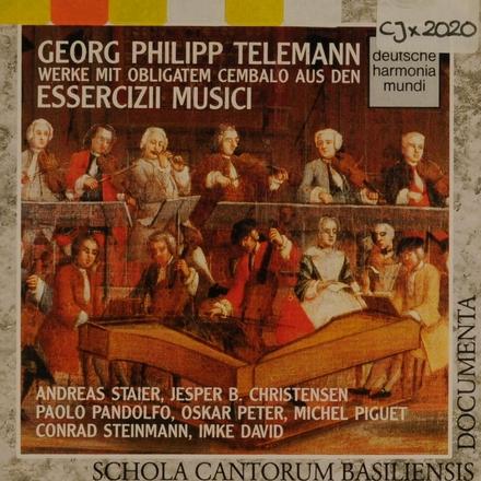 """Werke mit obligatem Cembalo aus den """"Essercizii Musici"""""""