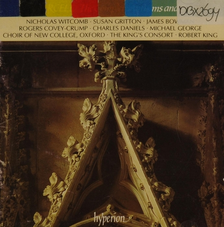The complete anthems and services 5. vol.5