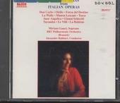 Soprano arias from Italian operas