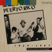 The music of Puerto Rico - 1929/47