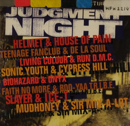 Judgement Night : music from the motion picture