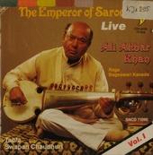 The emperor of sarod. vol.1 - live