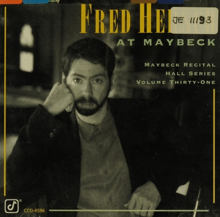 Fred Hersch at Maybeck