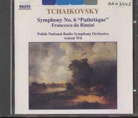 """Symphony no.6 """"Pathétique"""", op.74"""