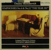 Symphony no.6 in b minor, op.54
