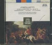 Symphonies nos.31, 59 & 73
