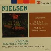 Symphony no.2 in b minor 'The four temperaments'