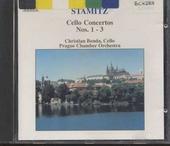 Cello concertos nos. 1-3